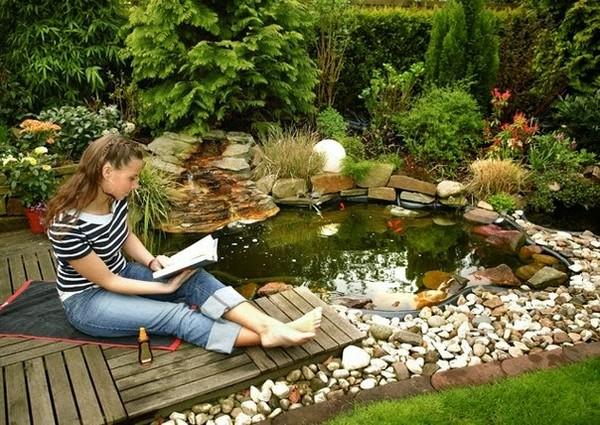 Как построить озеро в саду своими руками - Theonlypage.ru