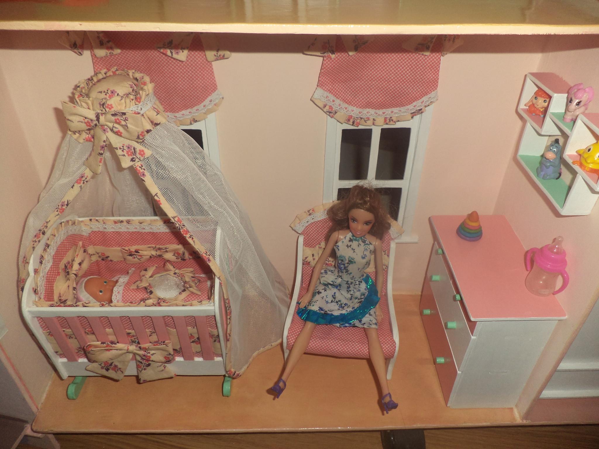 Мебель для кукол своими руками в фото