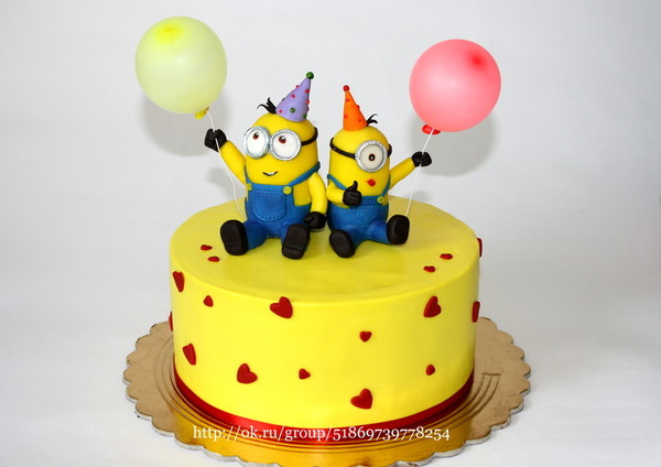 Торт миньон фото