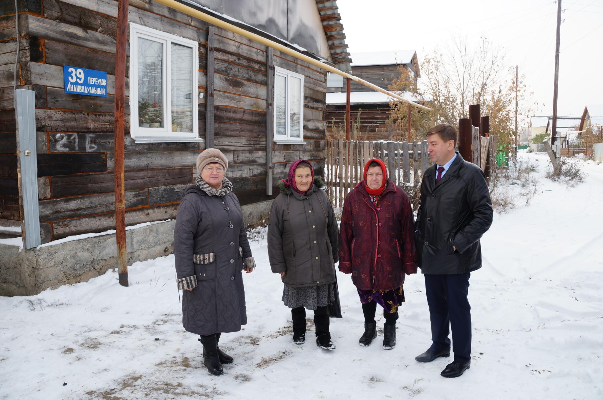 Встреча с жителями хутора Миасский